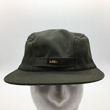 Vintage Lee 3 Panel Cadet Style Hat With Ear Flaps Size 7 3/8 Union Made In USA