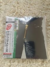 Rolling Stones  Sticky Fingers  Japan SHM CD MLPS Reißverschluss UICY-94571 NEU