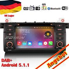 HD Autoradio Android 5.1.1 DAB+ DVD GPS WiFi BMW 3er E46 M3 Rover75 MG ZT 4046DE