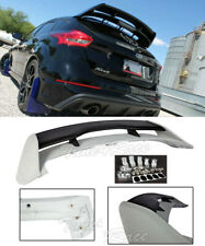 For 13-Up Focus Hatchback Roof Spoiler & Silve Wing Riser Extension Kit RS Style
