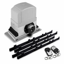 Sliding Gate Opener 1200KG Automatic Motor Remote Kit Heavy Duty 4M Nylon Rack