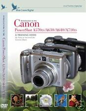 Blue Crane Training DVD: Canon Powershot A570is/A630/A640/A710is