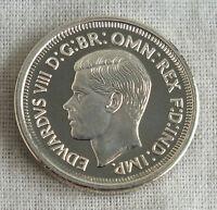 EDWARD VIII AUSTRALIA 1937 PATTERN SIXPENCE SILVER PROOF
