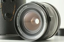 【 Almost Unused 】 Konica Hexanon AR 28mm f/3.5 Lens w/ Leather Case from Japan