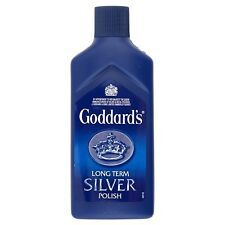 Goddard's Long Term Silver Polish Cleaner 125ml Protect Shine Dip Liquid Tarnish