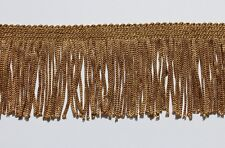 """Gold 2"""", Chainette  Fringe- By The Yard"""