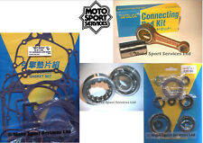 Honda CRF 450 R 09-16 Mitaka Bottom Engine Rebuild Kit Rod Mains Gasket Seal