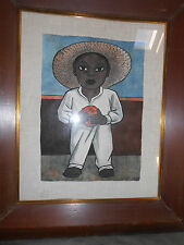 Hand Colored Diego Rivera Lithograph 1945