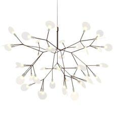 Modern Cherry Chandelier Light Tree Leaf LED Pendant Lamps Gold Black Fixtures