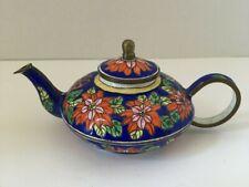 Charlotte Di Vita Collectors Miniature Enamel Teapot Trade Plus Aid