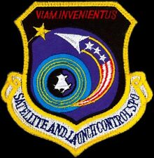 USAF SATELLITE AND LAUNCH CONTROL SYSTEMS – PROGRAM OFFICE ORIGINAL SPACE PATCH