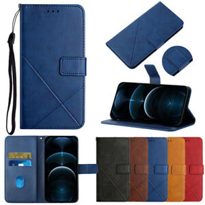 For LG K52 K42 K22 Plus Stylo 7 6 Leather Flip Wallet Magnetic Stand Case Cover