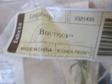 Longaberger Boutique Basket Liner Botanical Fields Fabric New