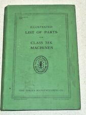 Singer 1910s-20s. Illustrated List Of Parts for Class 31K Machines. 165 pages