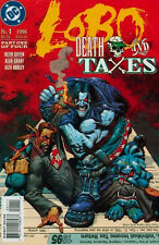 LOBO DEATH AND TAXES 1996 #1-4 COMPLETE SET LOT FULL RUN KEITH GIFFEN ALAN GRANT