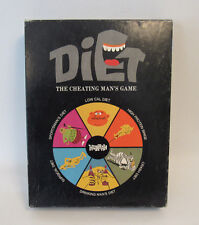 VINTAGE 1972 DIET THE CHEATING MAN'S GAME BOARD GAME COMPLETE!!  DYNAMIC DESIGN