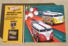 NIB 2005 Limited Edition Hot Wheels VW Drag Bus Mongoose & Snake Drag Race set