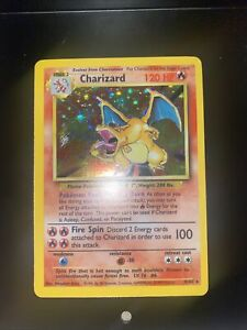 Vintage Rare Pokemon Card Charizard Base Set 4/102 Holo WOTC  Excellent 1999 PSA
