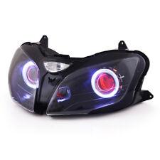 KT LED Headlight for Kawasaki Ninja ZX6R ZX-6R 2000-2002 Red