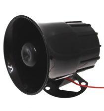SIRENA cablata (118 decibel) per l'uso con molti sistemi di allarme.