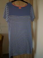 JOULES RIVIERA BLUE STRIPE DRESS SIZE12
