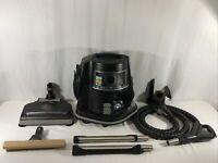 RAINBOW E2 TYPE 12 (BLACK SERIES) Vacuum Cleaner W/Attachment Tools. MINT!!