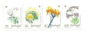 Portugal 1989 - Wild Flowers booklet MNH