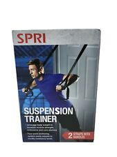 Suspension Trainer 2 Straps With Handles SPRI  NEW NIB - Great For Home Gym