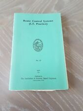 IRSE Railway Books - Route Control Systems No.19