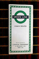 More details for london transport green line coach map may 1953  553/982l/100,000