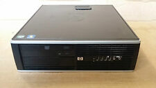 HP Elite 8000 SFF Core2Quad 4 x 2.40GHz 8GB 320GB DVD-RW PC Desktop Computer