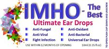 """Natural """"antibiotic"""" ear drops to treat any infection. For people & animals"""