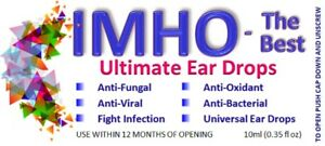 "Natural ""antibiotic"" ear drops to treat any infection. For people & animals"