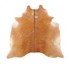 peau de vache taureau MARRON 210 x 175 cm peau de bœuf Tapis peau de vache