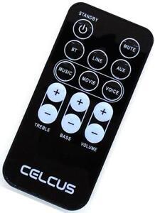 Genuine Celcus Bluetooth Home Theatre Soundbar Remote For B-3368