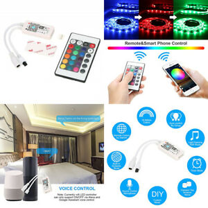 WIFI Remote Controller 5A 10A Adapter Power Supply Transformer for RGB LED Strip