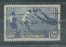 N°396 oblitéré coupe du monde de football à paris    année 1938