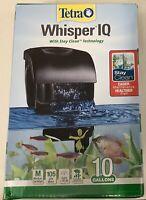Fish Tank Tetra 78000 Whisper IQ Power 10 Gallon Aquarium Filter System NEW