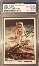 1990 Buzz Aldrin Apollo 11 Space Shots Ventures Signed PSA/DNA AUTHENTIC AUTO
