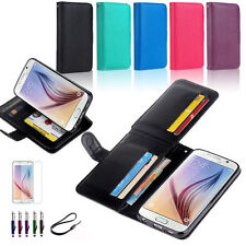 Synthetic Leather Mobile Phone Cases, Covers & Skins for Samsung with Clip
