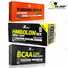 OLIMP THERMO SPEED EXTREME + HMBOLON + BCAA - Lean Muscle Build & Fat Burner