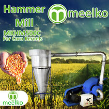 Electric Hammer Mill for Corn Kernels with Cyclone - MKHM500C