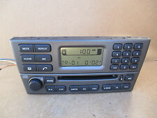 Jaguar X Type X-Type Radio Stereo CD Player 1X43 Genuine 1X43-18B876-AC +CODE