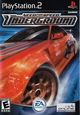Need for Speed: Underground - Playstation 2 Game Complete