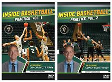 Inside Basketball Practice Vol. 1 and 2 - Coach Scott Nagy - 2018 New DVD Set