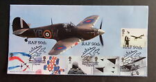 GB 2008 RAF 90th Ann Hurricane FDC Bletchley Park Post Office Ltd Ed 43 of 51