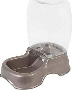 3 Gallon Dog Cat Pet Automatic Water Dispenser Drinking Fountain Large Bowl Dish