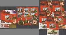 D0288 IMPERF CONGO STALIN & ARMY WORLD WAR II WWII LEADERS !!! 1KB+6BL MNH