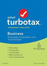 Turbo Tax 2019 Business Fully Activated with Latest Updates