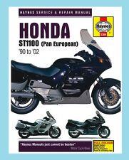 MAN3384 Haynes Werkstatt Handbuch Honda st ST1100 Pan European 1990 To 2002